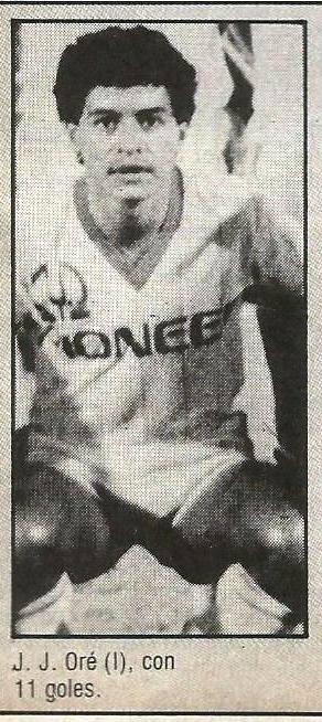 Juan José Oré, goleador de Primera División