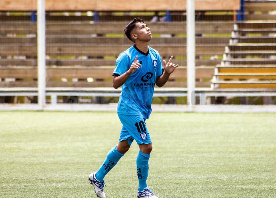 Johan Castillo marcó para la Sub-17 (FOTO: Pablo Vásquez)