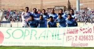En el Clausura 14-15, junto a SOPRANIL.