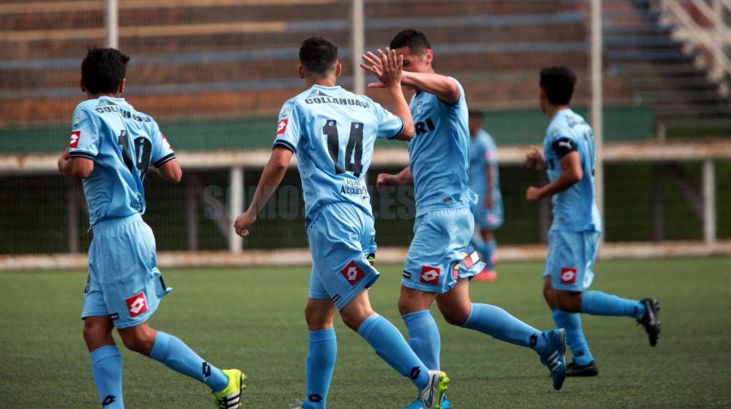 Camilo Silva abrió el marcador para la Sub17.