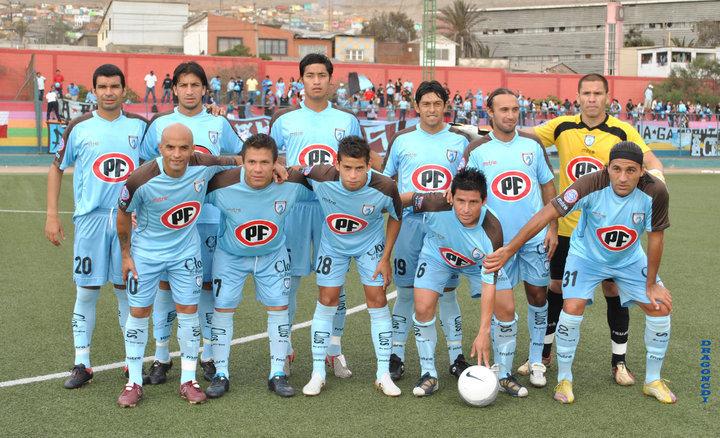 El equipo que inició el torneo