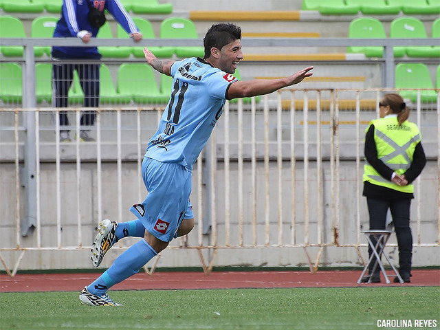 Carlín goleador (FOTO: Carolina Reyes)