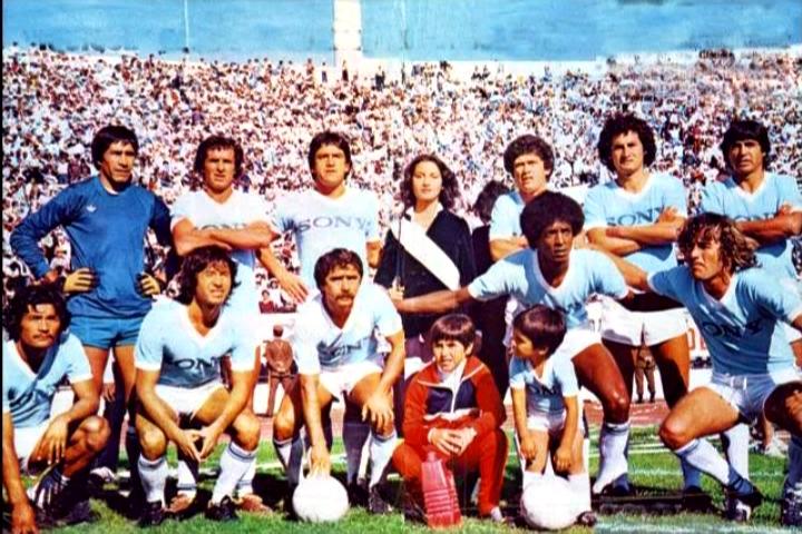 Formación de la final de Copa Polla Gol 1980