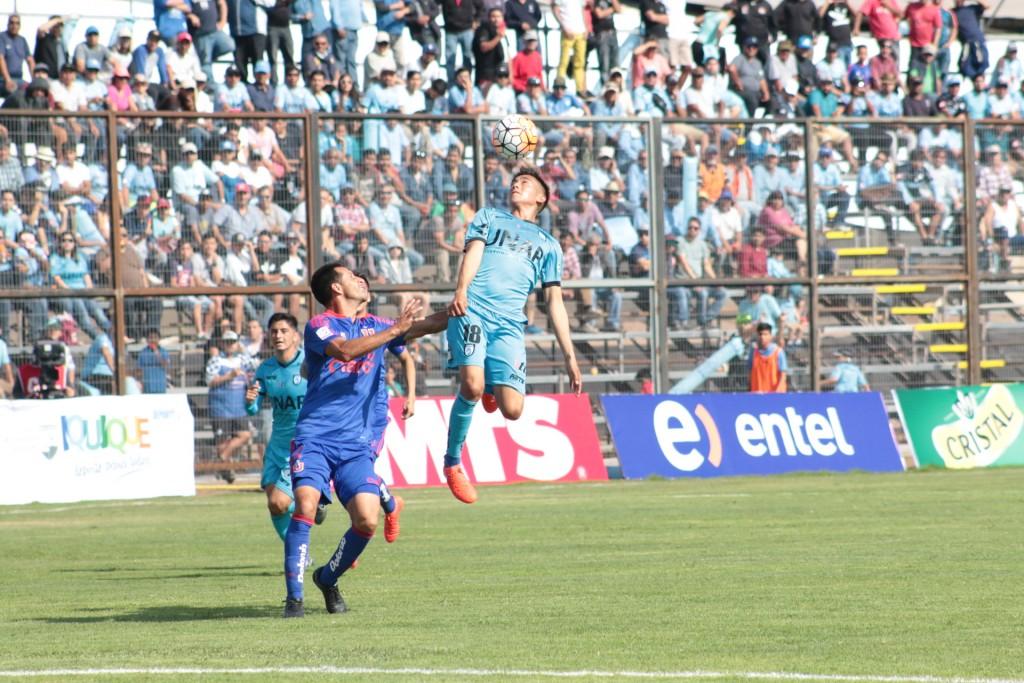 Deportes Iquique solo empató en el regreso a Cavancha  (FOTO: Pablo Vásquez)