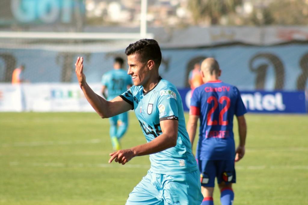 Caroca marcó el empate en la Ida FOTO: Pablo Vásquez