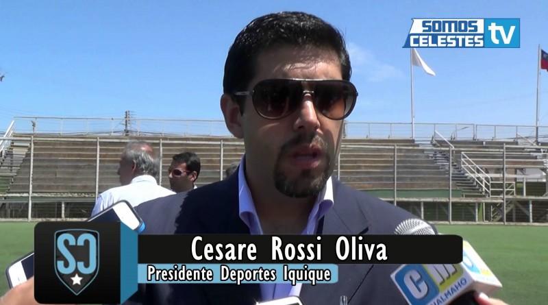 """Cesare Rossi: """"No debería haber descenso"""""""
