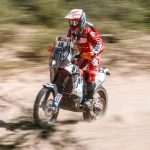 """El iquiqueño """"Nacho"""" Cornejo entre los más destacados de Sudamérica en el Rally Dakar"""